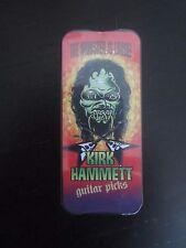 KIRK HAMMETT GUITAR PICKS AND TIN