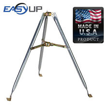 Easy Up 3Ft Tripod Base w/ Cup Antenna Satellite Dish Mount Made in USA 48-3A