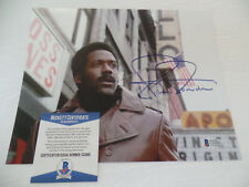 Richard Roundtree auto BAS COA 1971 Shaft Apollo Theatre Signed 8X10 Autograph