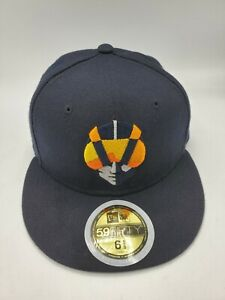 Las Vegas Aviators New Era 59Fifty Blue 6 5/8 Fitted Hat Cap New