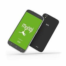 Monqi childrens safe phone Android Sim-Free Unlocked Parental management Black