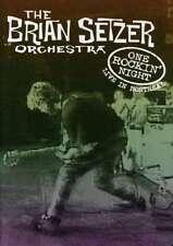 THE BRIAN SETZER ORCHESTRA-One ROCKIN ' noche NUEVO DVD