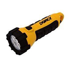 Dorcy 41-2510 Waterproof LED Flashlight, 55-Lumens, Yellow