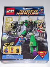 "LEGO DC Super Heroes #6862 Wonder Woman Superman vs Power Armor Lex ""NEW&SEALED"""