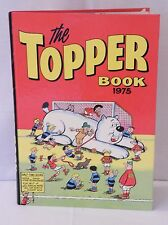 "VTG COMIC BOOK ANNUAL ""THE TOPPER BOOK 1975"" – 42 YEARS OLD!!! TOP BIRTHDAY GIFT"