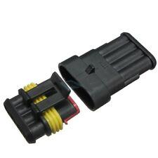 Stecker Steckverbindung wasserdicht Stecker SET 4-Polig