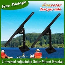 Universal Adjustable Solar Panel Wall Mount Bracket(to buy 2set in 1lot)