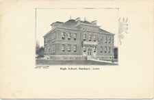 DANBURY CT – High School – udb (pre 1908)