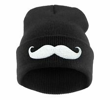 Men Women Winter Beanie Hat Bad Hair Day Caviar Wasted Youth GEEK OVERSIZED