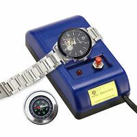 Watch Repair Screwdriver Tweezers Electrical Demagnetizer Tool & Compass