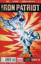 Iron Patriot #5 Comic Book 2014 - Marvel