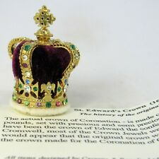 ST EDWARD'S CROWN (1661), THE MINIATURE CROWN JEWEL COMPANY