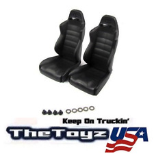 1/10 RC Scale Rock Crawler Truck, Drift Car Hard Plastic Black Seats 2pcs T7002