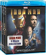 IRON MAN: 3 MOVIE COLLECTION NEW BLU-RAY