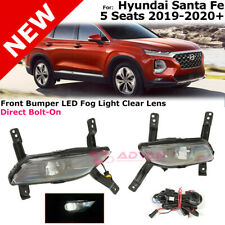 LED Foglights For Hyundai Santa Fe 2019-2020+ 5 Seats Model Only Fog Light Kit