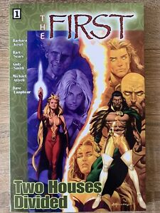 The First Volume 1 Two Houses Divided TPB Covers Comic Issues #0.5-#7 Crossgen