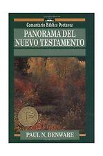 Panorama del Nuevo Testamento (Comentario Bblico Portavoz) (Spa... Free Shipping