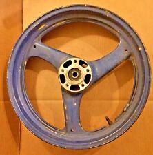 OEM 1989-1997 Suzuki GSX600 GSX750 Katana Front Wheel  54111-34C01 Blue Repaint