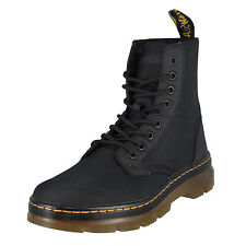 Dr. Martens Mens Combs Fold Down Boot Black Extra Tough Nylon Rubbery UK 10  /