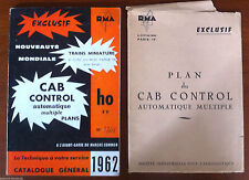 Catalogue CAb Control 1962 + Plan du Cab Control Automatique multiple