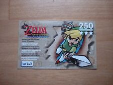 The legend of zelda windwaker collectors edition Gamecube VIP points card