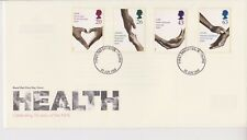 UNADDRESSED GB ROYAL MAIL FDC COVER 1998 NHS HEALTH STAMP SET TRURO PMK