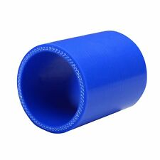 "2"" inch 51mm Straight Silicone Hose Coupling Radiator Pipe Blue"