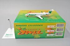 """Air Canada JAZZ CRJ-200 Reg C-FDJA """" Green """" JC Wings 1:200 Diecast Model LH2193"""