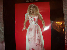 Teen Girl  / Women's (Junior Size) Prom Zombie 3 Piece Costume Size 7-9 NIB $40