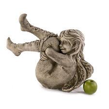 Steinfigur Gartenfigur Dekofigur NEU 39cm 19kg Fiona Scott Elfe Steinguss Deko