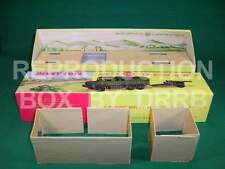 Dinky #695 7.2 Howitzer & Tractor - Reproduction Box by DRRB