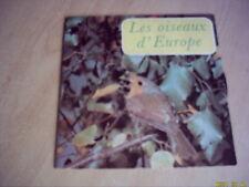 Vinyle 45 tours : Les oiseaux d'Europe