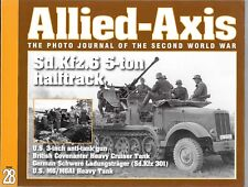 Allied-Axis, Photo Journal of the Second World War # 28, VF- , T1/M6 Heavy Tank