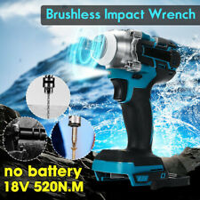 "1/2"" 520Nm Impact Wrench Brushless Cordless Drill For 18V Makita Battery DTW285Z"