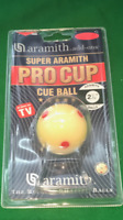 PRO CUP SPOTTED WHITE SNOOKER TRAINING BALL 2 1/16. ARAMITH