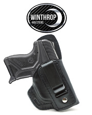 Ruger LCP II No Laser IWB Single Clip w/Shield Holster R/H Black