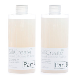 SiliCreate Medium Liquid Silicone Rubber for Moulding/Casting - 1Kg/2Kg/4Kg/8Kg