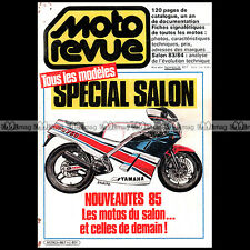 MOTO REVUE HS 667-c HORS-SERIE ★ SPECIAL SALON 1985 ★ CATALOGUE INTERNATIONAL