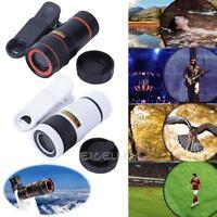 Universal 8X Zoom External Telephoto Lens Optical Telescope Len for Phone Camera
