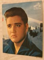 Elvis Presley 8x10 Card Young Elvis in Blue RCA Victor