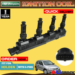 Ignition Coil for Holden Barina Combo XC 2004-2013 Z14XEP 1.4L