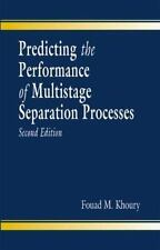 Predicting the Performance of Multistage Separation Processes, Second-ExLibrary