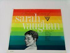 "SARAH VAUGHAN*FEATURING THE VOICE OF*SUTTON SU-293*12""33 RPM LP*MONO*JAZZ"