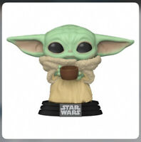 Funko Pop! Star Wars The Mandalorian The Child w/ Cup w/Protector Preorder July