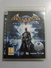 BATMAN Arkham Asylum PlayStation 3 (ps3) pal España COMPLETO