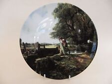 """Royal Doulton Collector Plate """"The Lock"""" 2nd issue in Constable Country Series"""