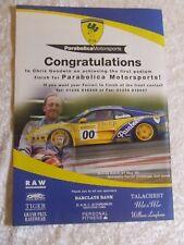 PARABOLICA MOTORSPORTS FERRARI MARANELLO 1996  POSTER ADVERT READY FRAME A4  C