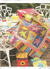 F0273 BIRTHDAY STARS QUILT PATTERN/INSTRUCTIONS