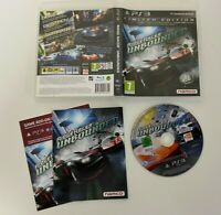 Ridge Racer Unbounded PS3 - VGC - Complete - Free P&P