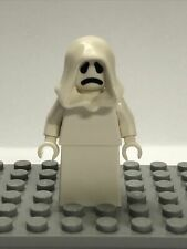 NEW LEGO WHITE HOODED GHOST MINIFIGURE FROM Haunted House SET 10273 FAIRGROUND